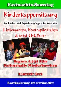 Kinderkappensitzung Plakat 2012