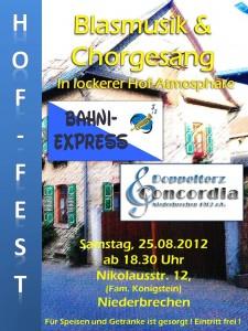 Flyer Hoffest