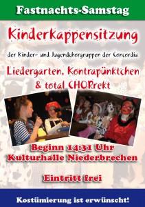 Kinderkappensitzung 2015