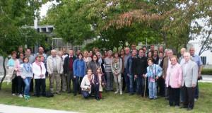 Gruppenfoto Fahrt Bonn