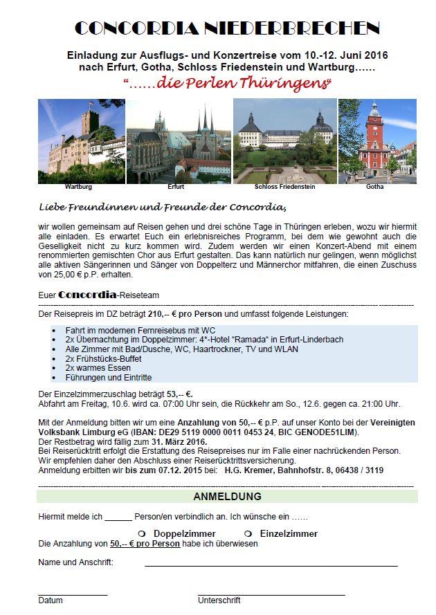 Ausschreibung Erfurt 2016