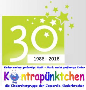 Logo Kontrapünktchen 30 Jahre Bild