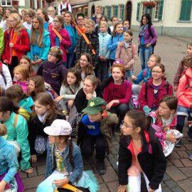 """""""Kontrapünktchen"""" beim Kinder- und Jugendchortag in Geisenheim"""