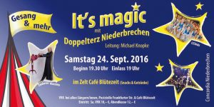 Flyer Its magic 24.09.2016