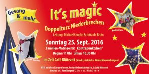 Flyer Its magic 25.09.2016