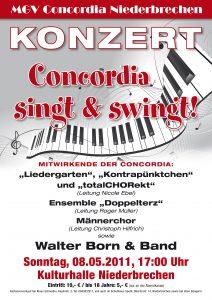 MGV Konzert 2011 - Plakat 07.indd