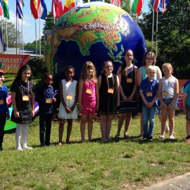 Unsere Kontrapünktchen waren beim Kinderchorprojekt des Harmonie-Festivals in Lindenholzhausen mit am Start!