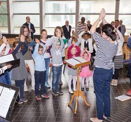 Neue Gruppenaufteilung und feste Probezeiten der 2 Chorgruppen im Kinderchor