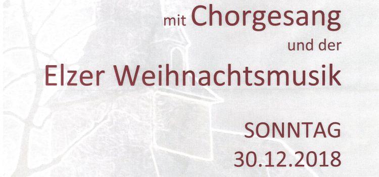 """….nicht nur """"Stille Nacht"""" Doppelterz lädt zum Chorkonzert in die Berger Kirche ein"""