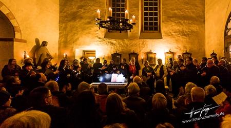 Bilder vom stimmungsvollen Konzert in der Berger Kirche