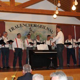 Voice Boys begeistern auch in Geilnau