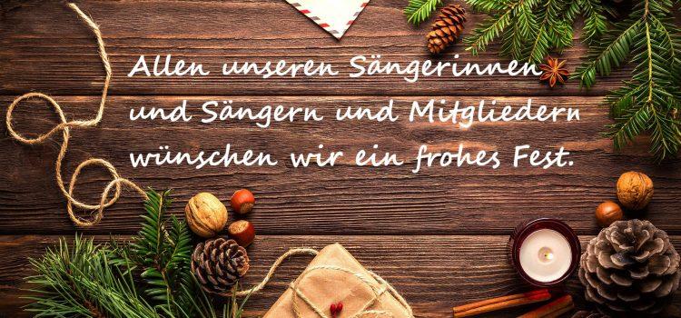 Weihnachtsgrüße für Dich