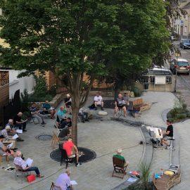 öffentliche Probe zum Reinhören oder  Reinschnuppern im Hydepark am 02.08.2021